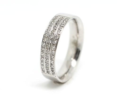 Anel Noivado Ourivesaria Ana de Lima - Anel Ouro e Diamantes