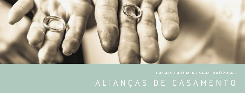 Alianças de Casamento Personalizadas