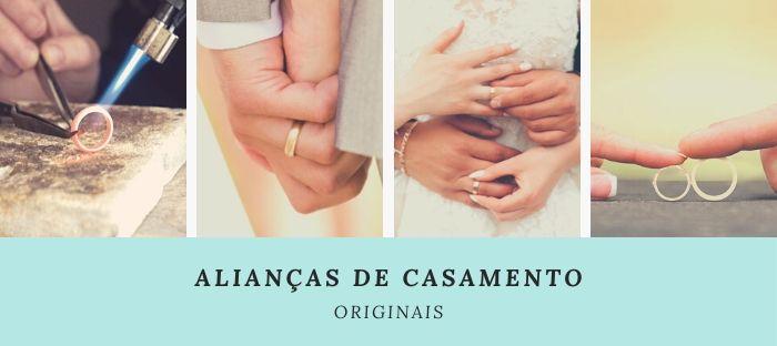 Alianças de Casamento Originais